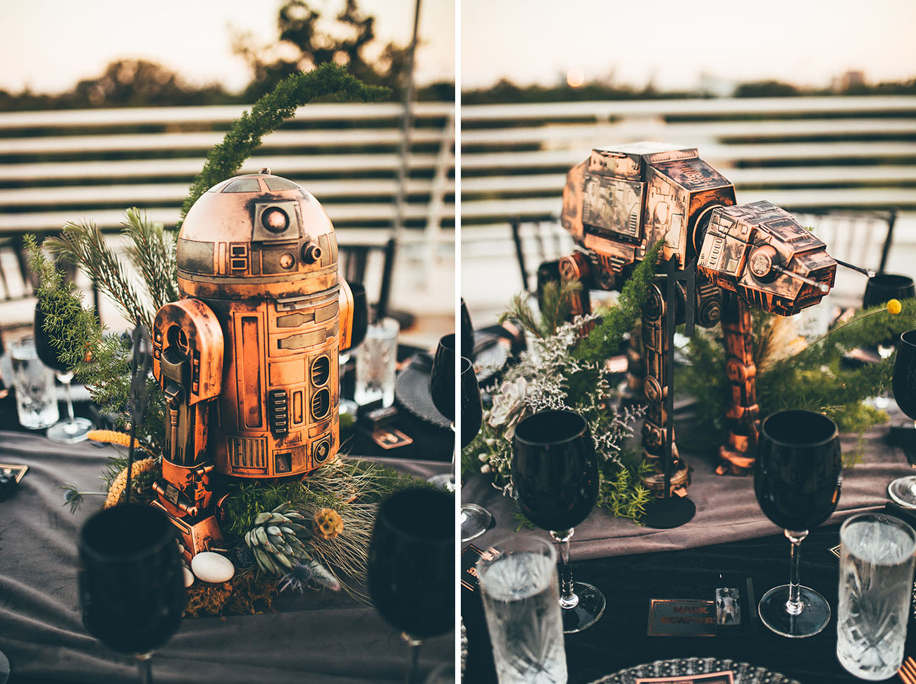 Star Wars Wedding Centerpieces