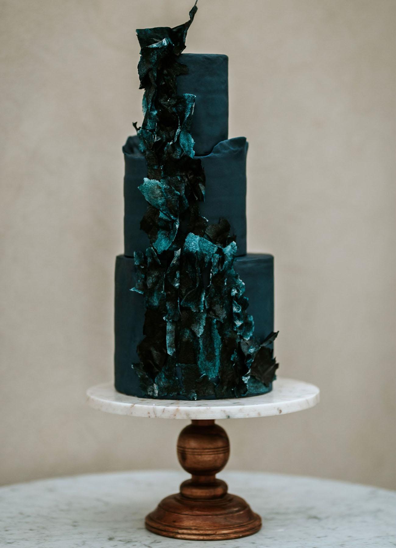 celestial blue cake
