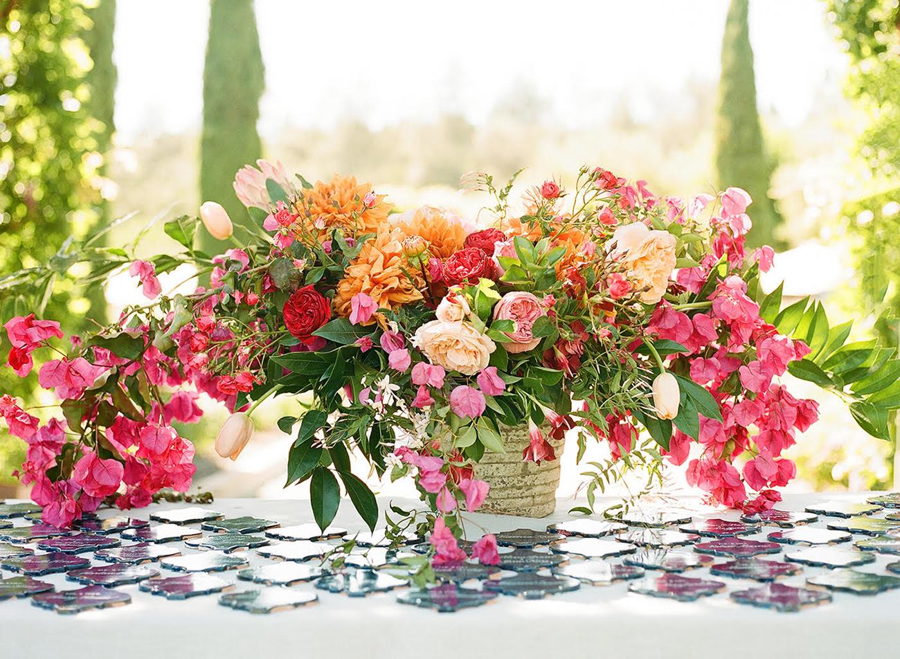 Bougainvillea Wedding Florals