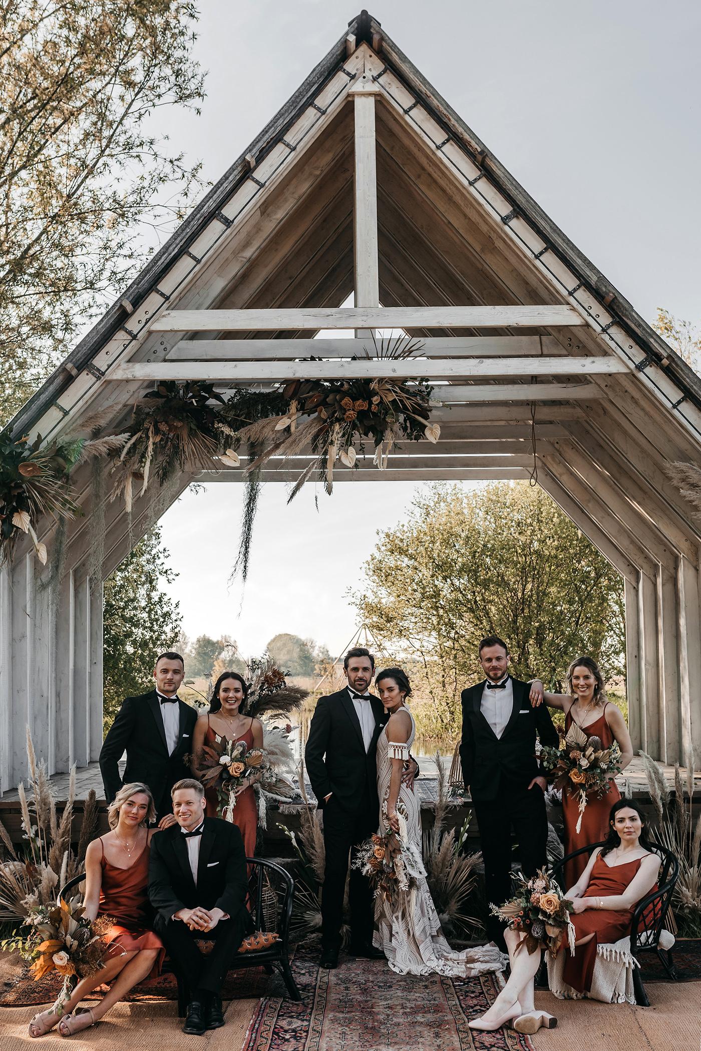 boho glam wedding