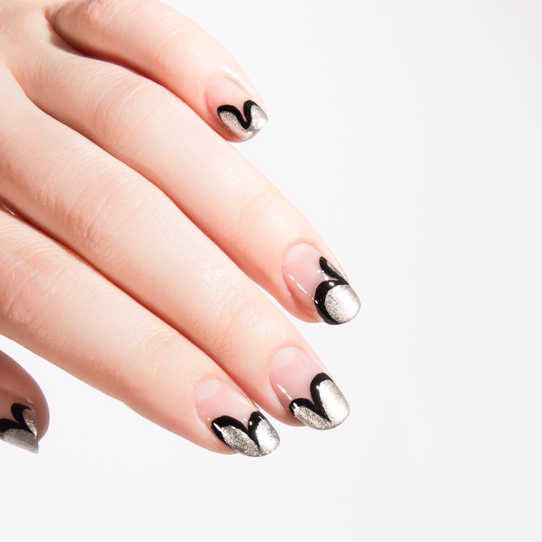 art deco manicure