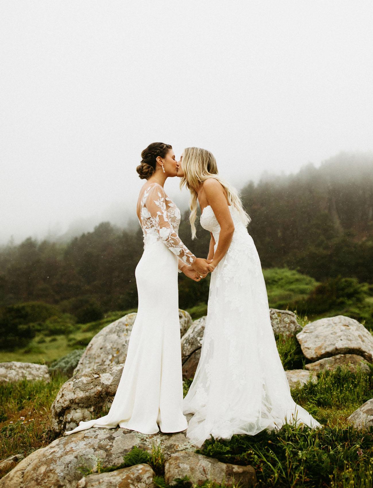Woodsy Wedding Dresses from BHLDN