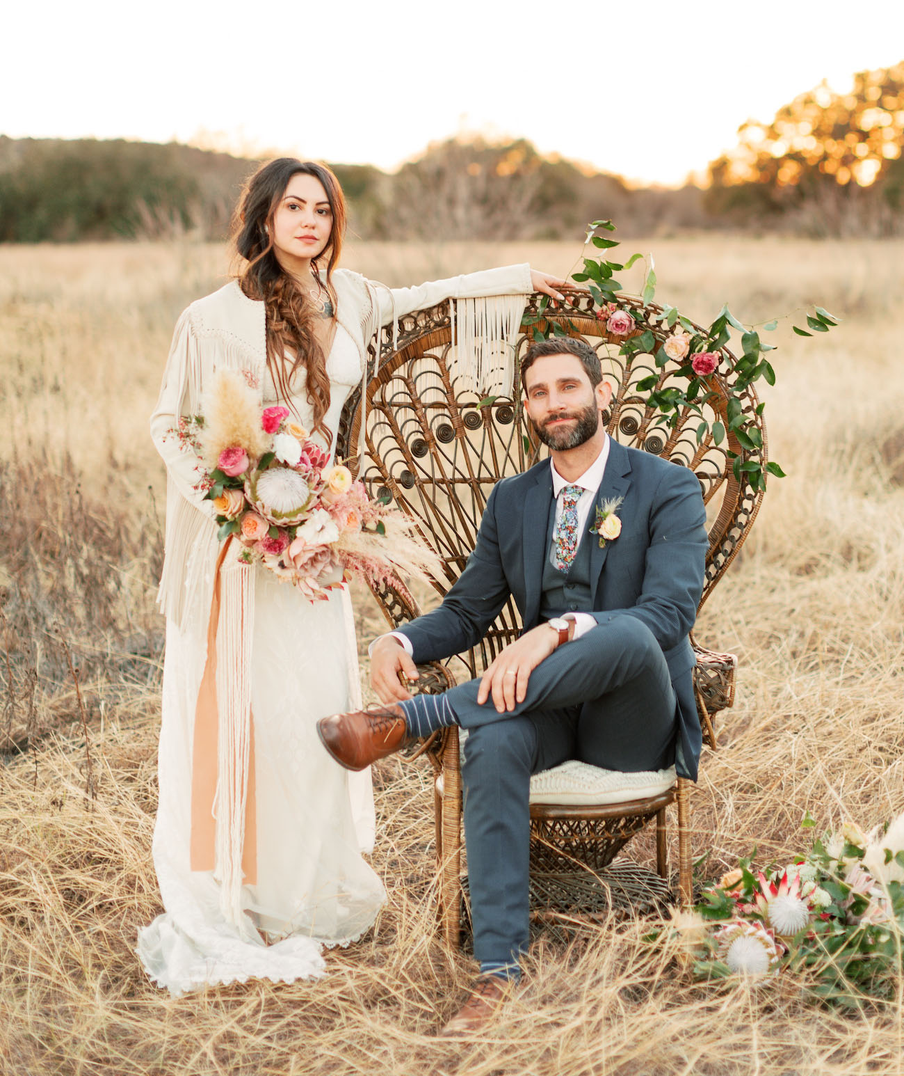 The Ultimate Bohemian Wedding at a Greenhouse