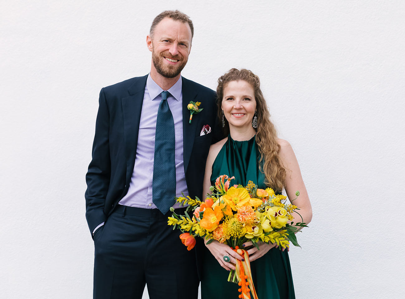 Downtown LA Brunch Wedding