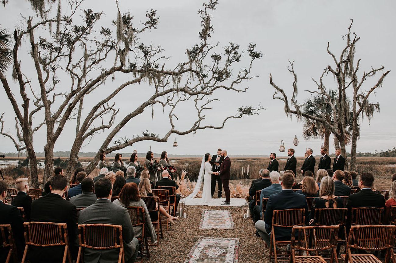 St. Augustine Florida Air BnB Wedding