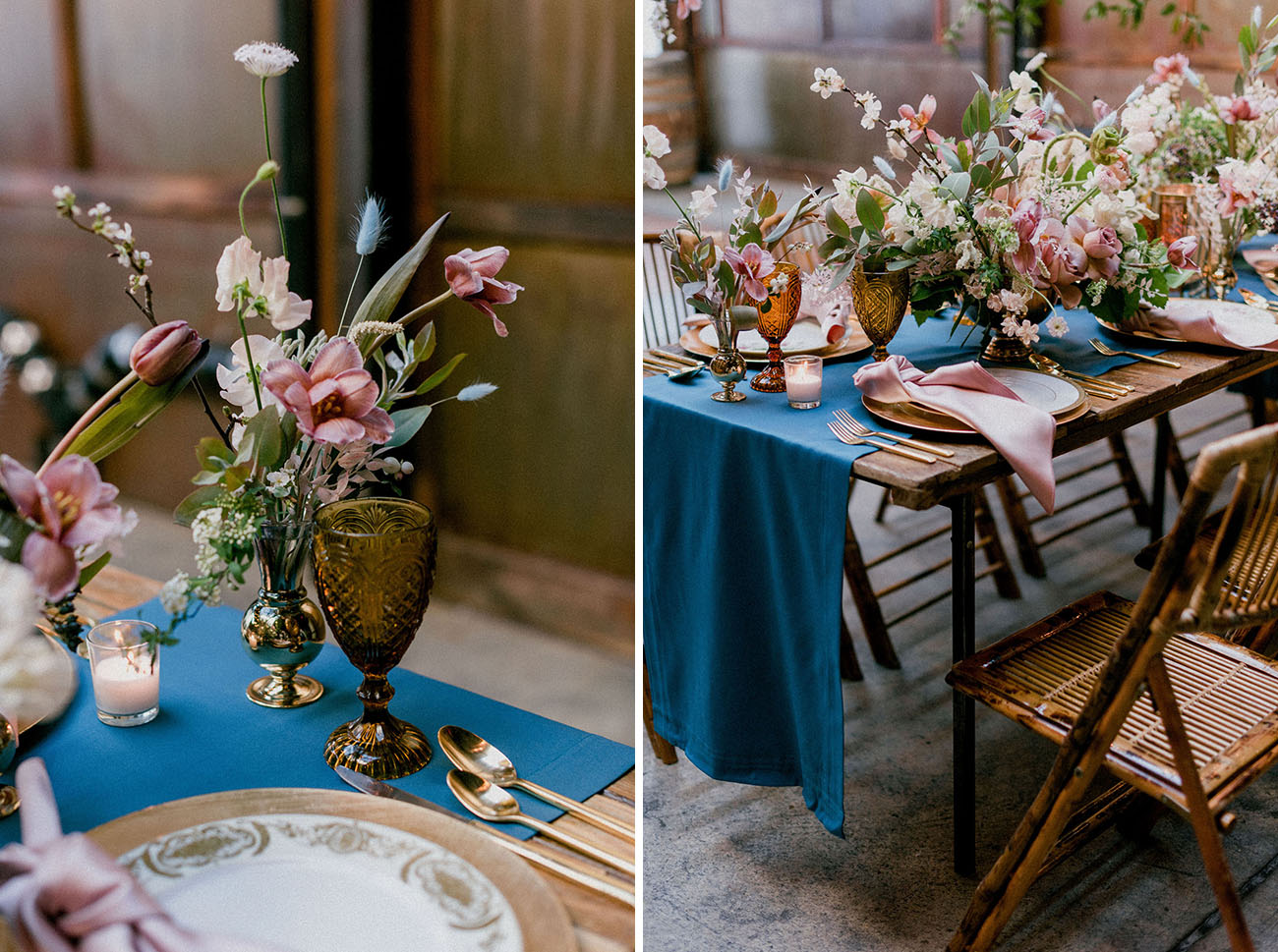 Wine and Rose Wedding Inspiration