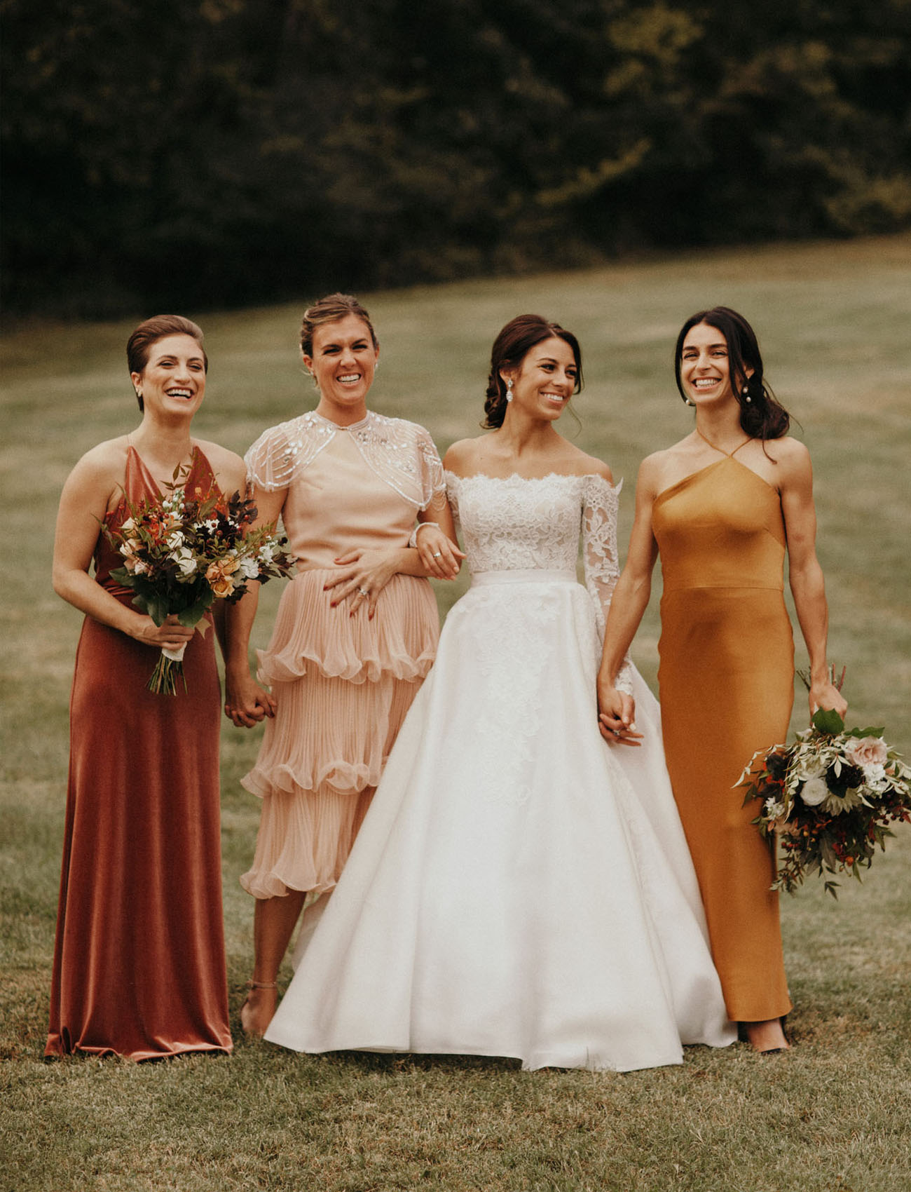 autumn bridesmaid colors