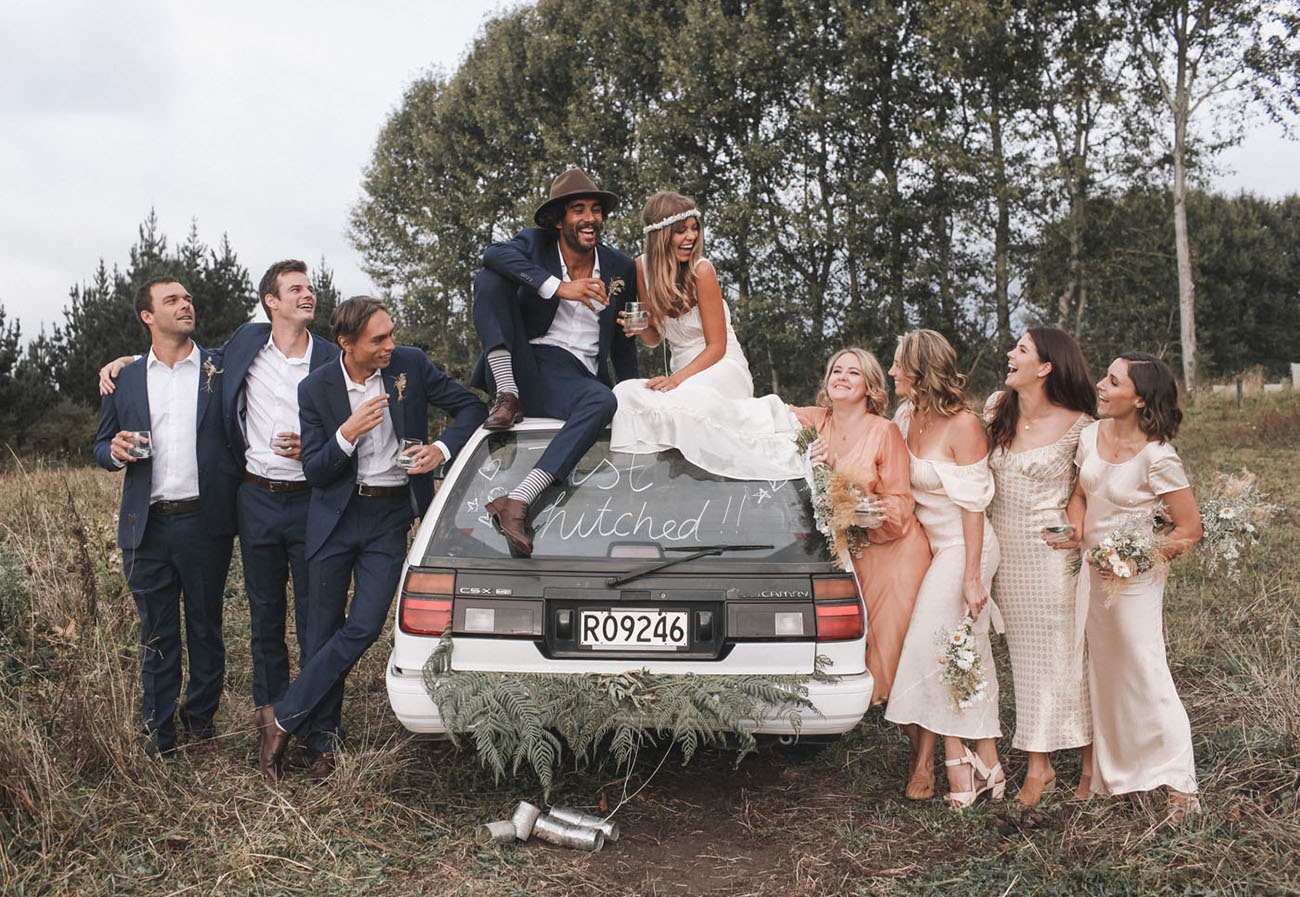A Glamping Wedding Full of Wonder + Whimsy for Bohemian Lovers