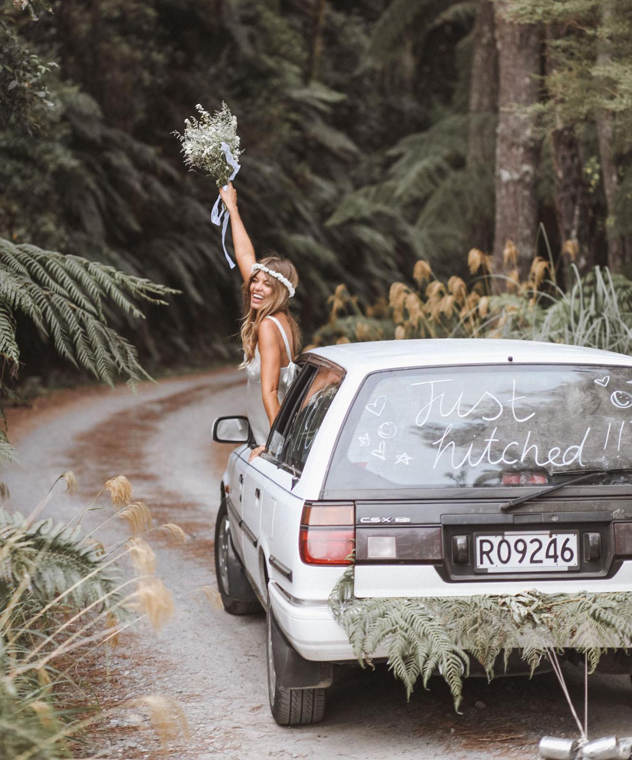 Boho New Zealand Wedding