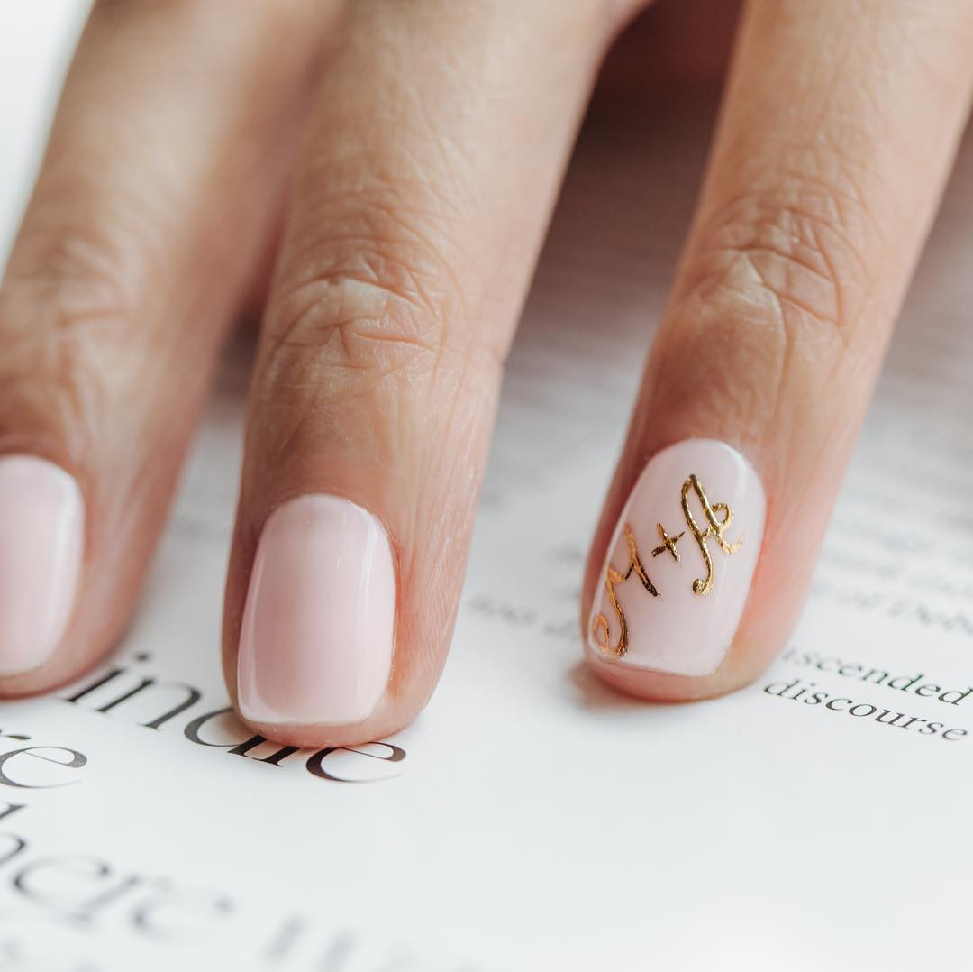 Wedding Nail Art: Chic + Cheeky Nail Art Ideas For Your Bridal Manicure