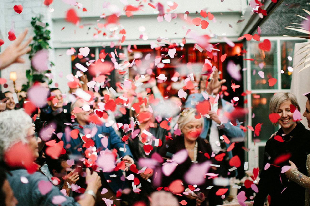 confetti exit