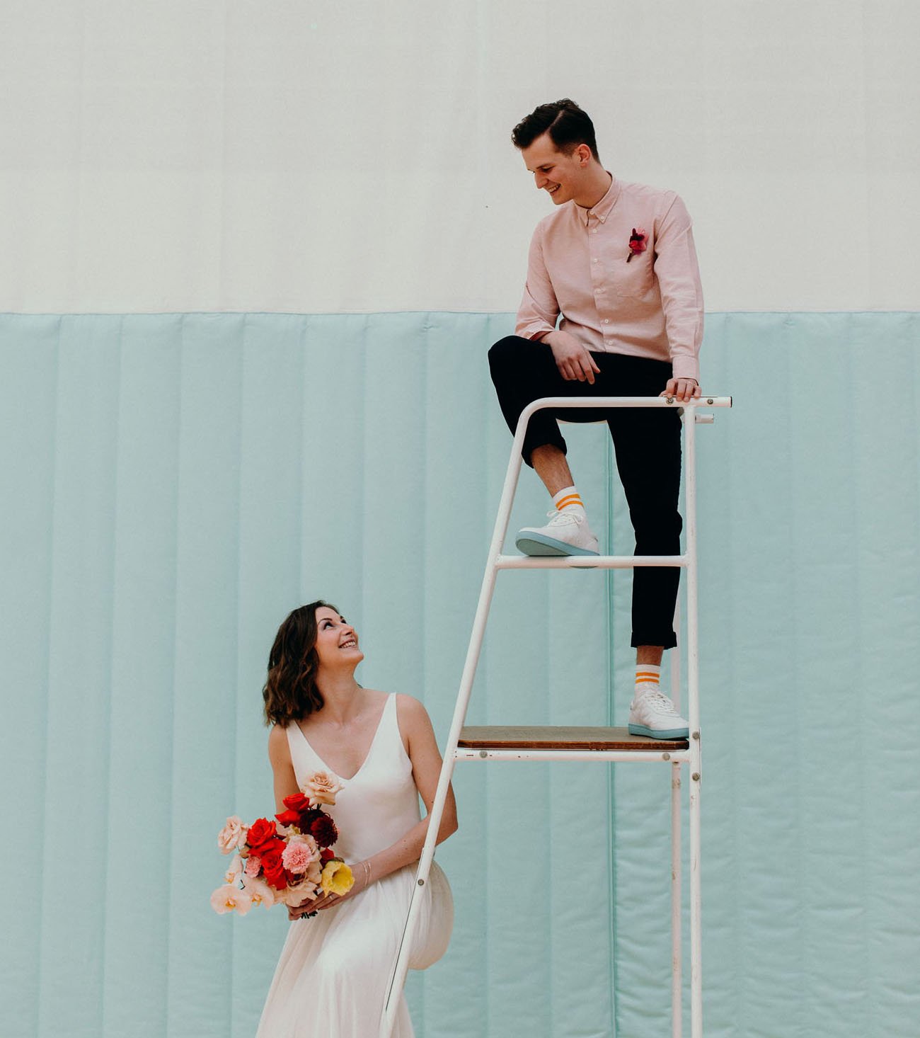 Modern Sports Wedding Inspiration