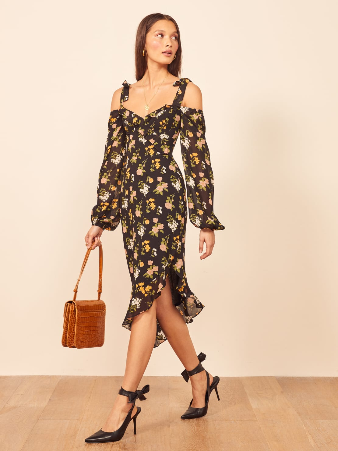 Autumnal dresses for fall wedding