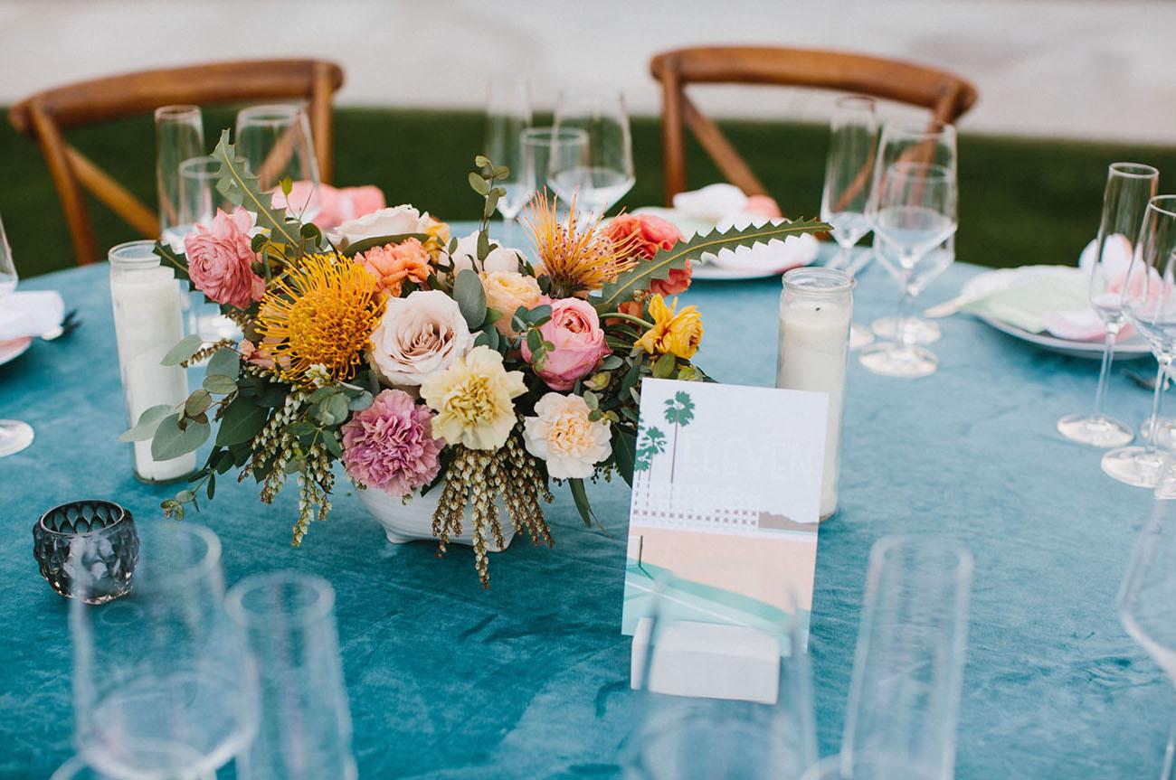 Palm Springs Foodie Wedding