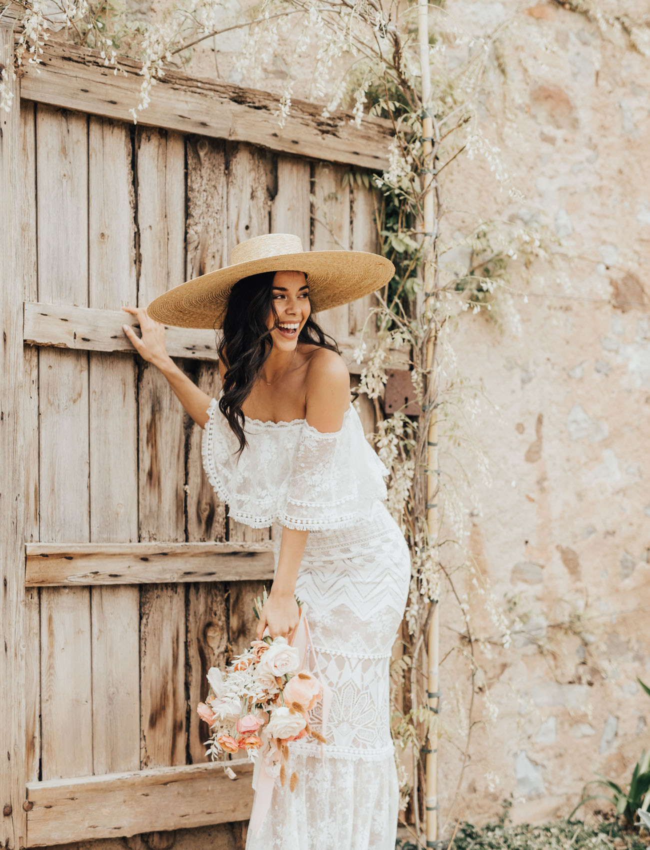 Peachy Coral Hues + Boho Vibes or Modern, Edgy + Luxe Wedding in Barcelona? Choose Your Fave!