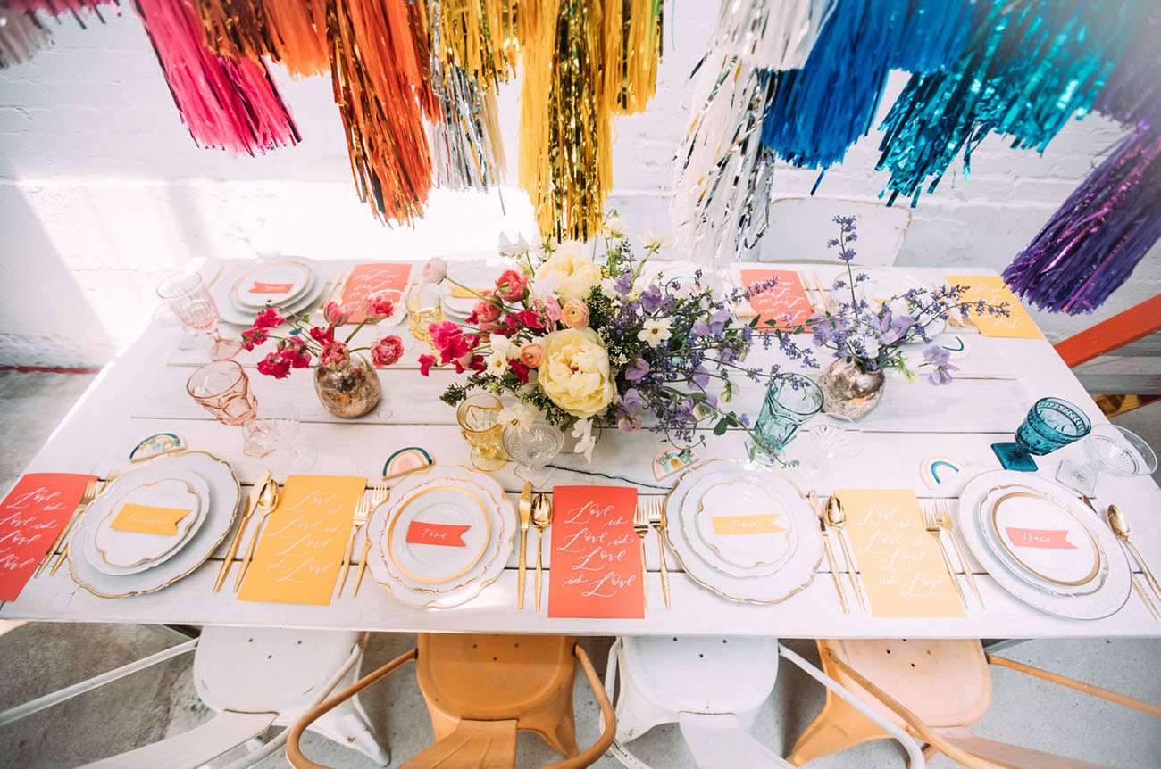 Pride Rainbow Wedding Inspiration
