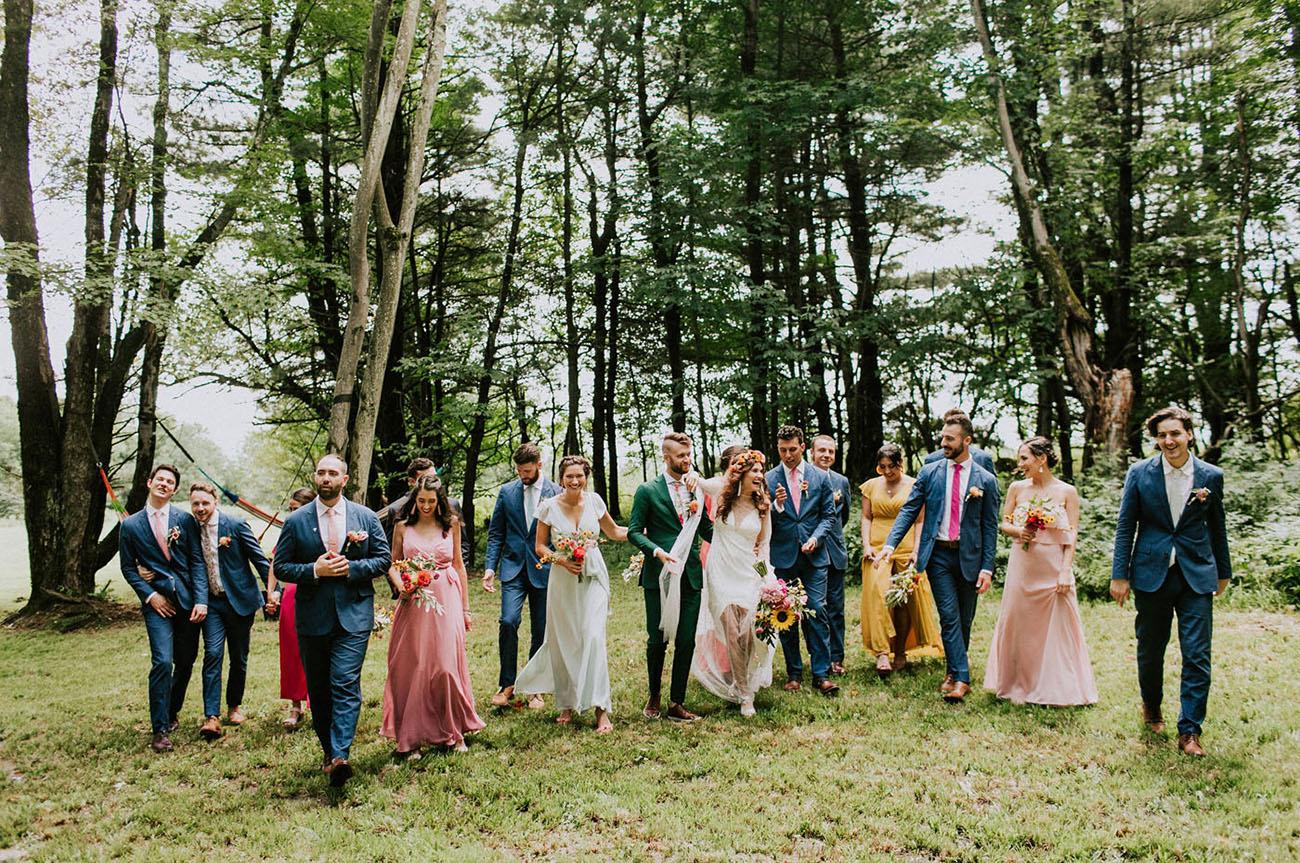 Rainbow Ranch Wedding