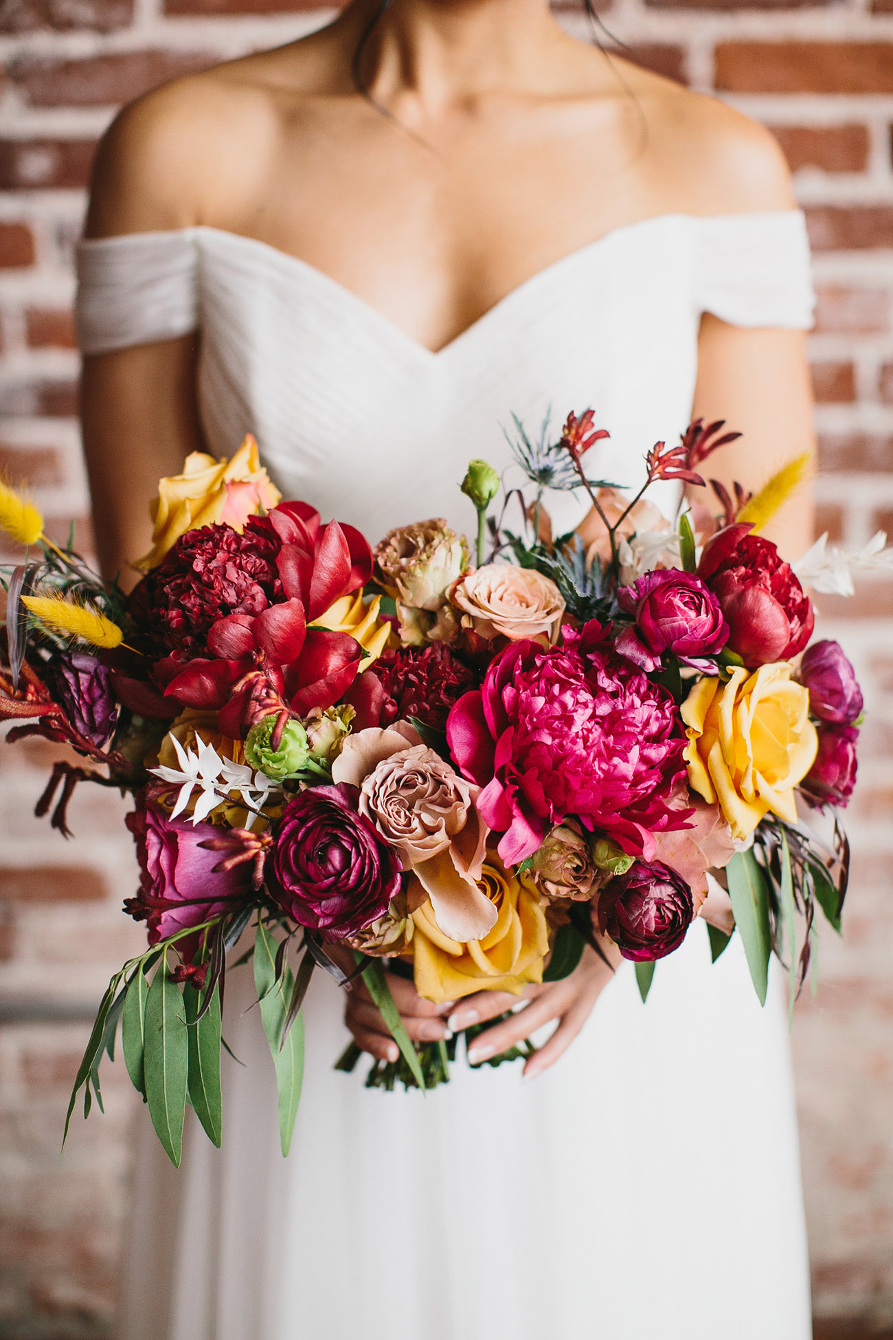 bold bouquet photo by Katie Pritchard