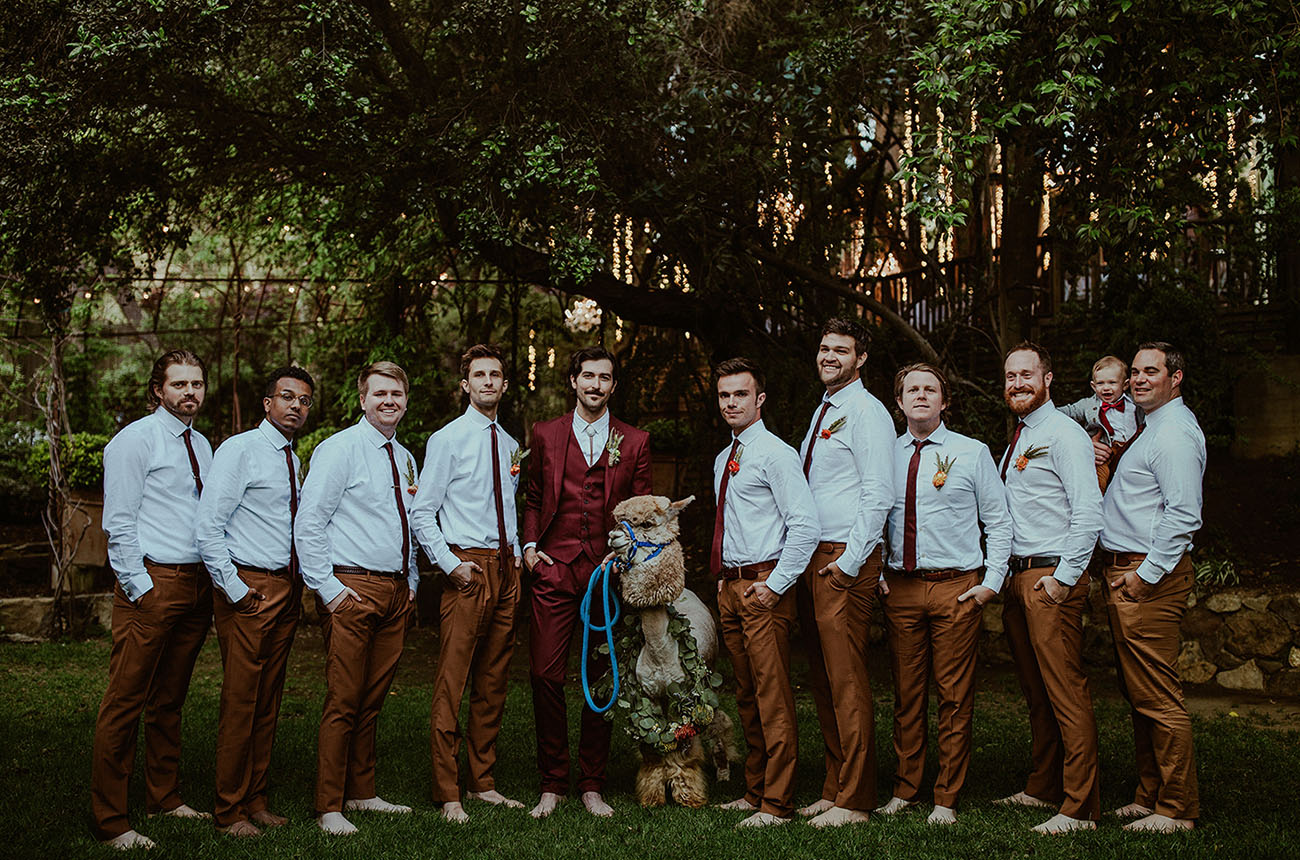 Boho Malibu California Wedding