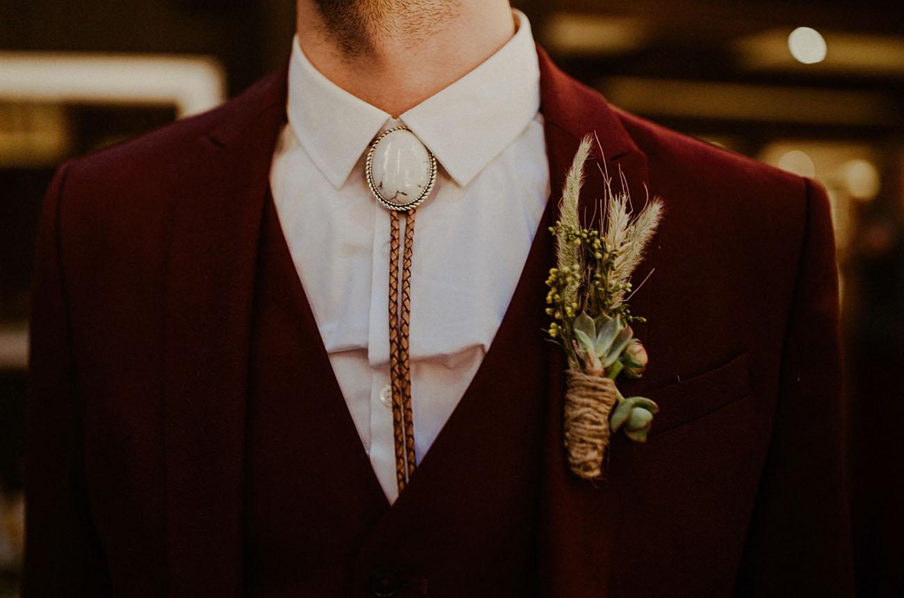 bolo grooms attire