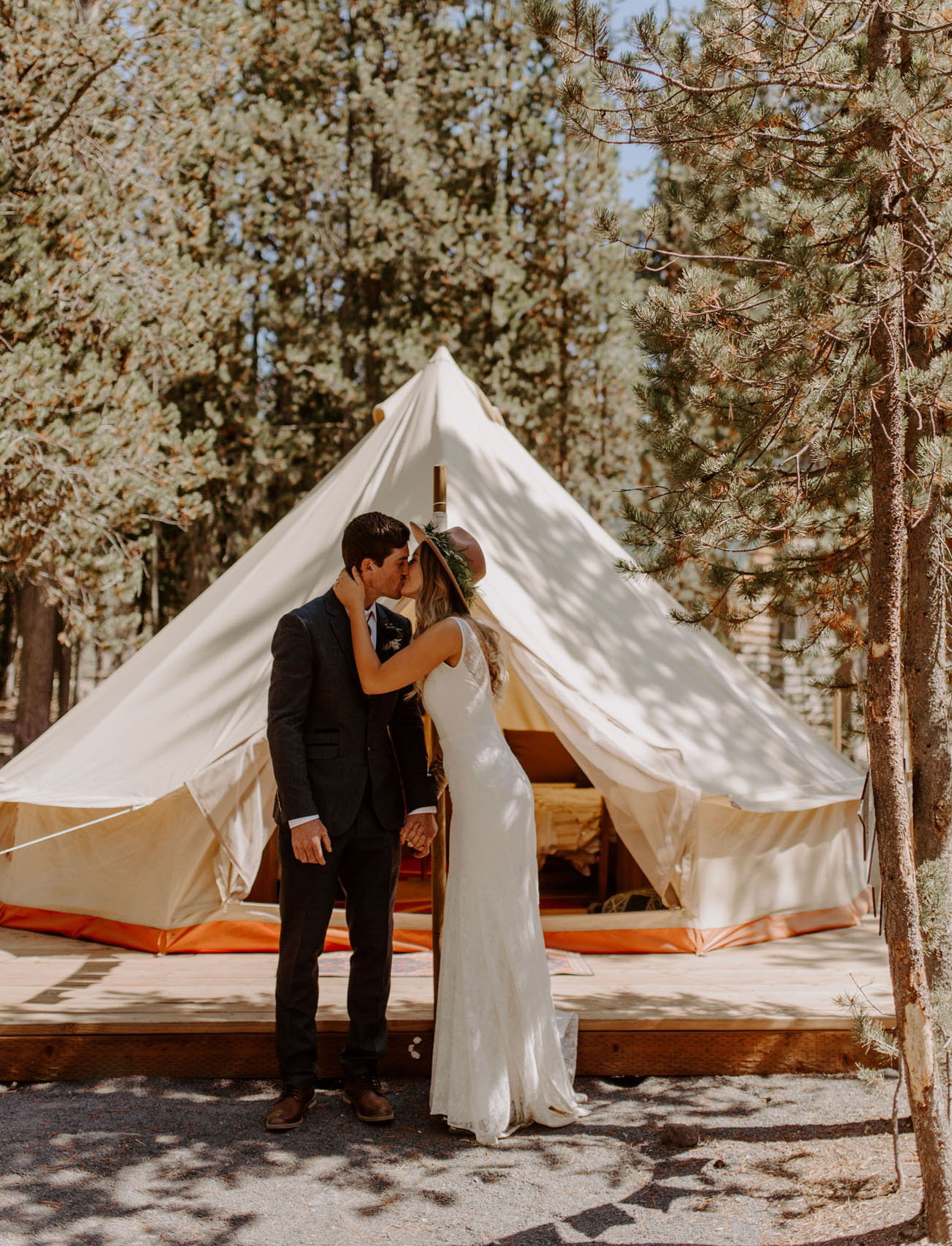 How To Throw a Camp Wedding
