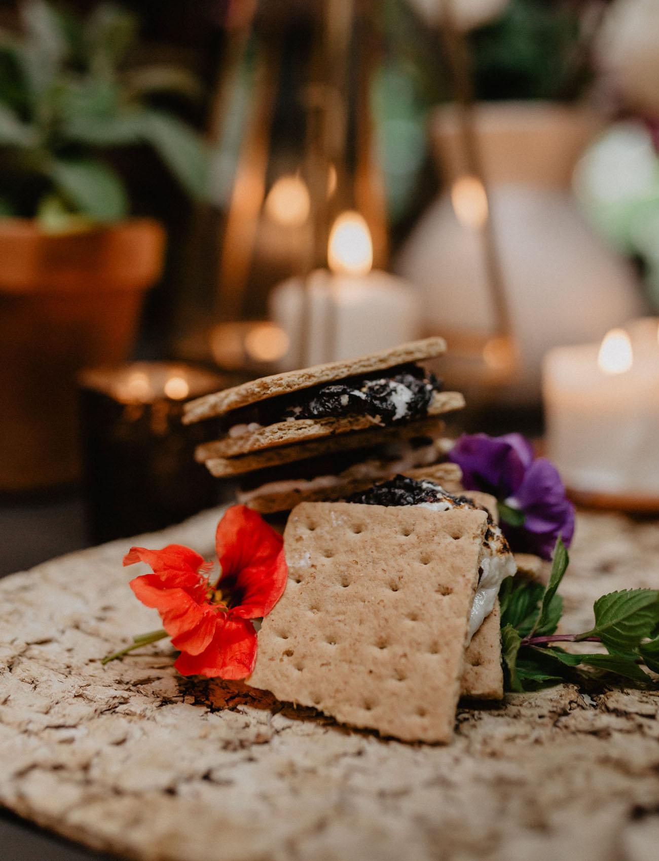 s'mores wedding dessert