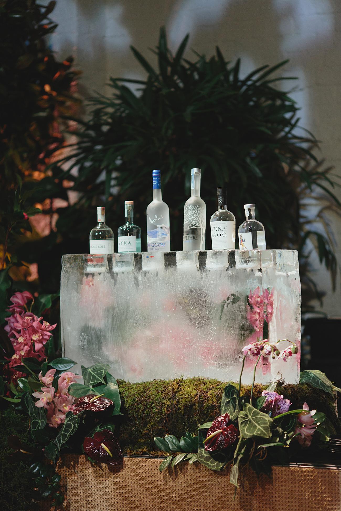 spirits on ice