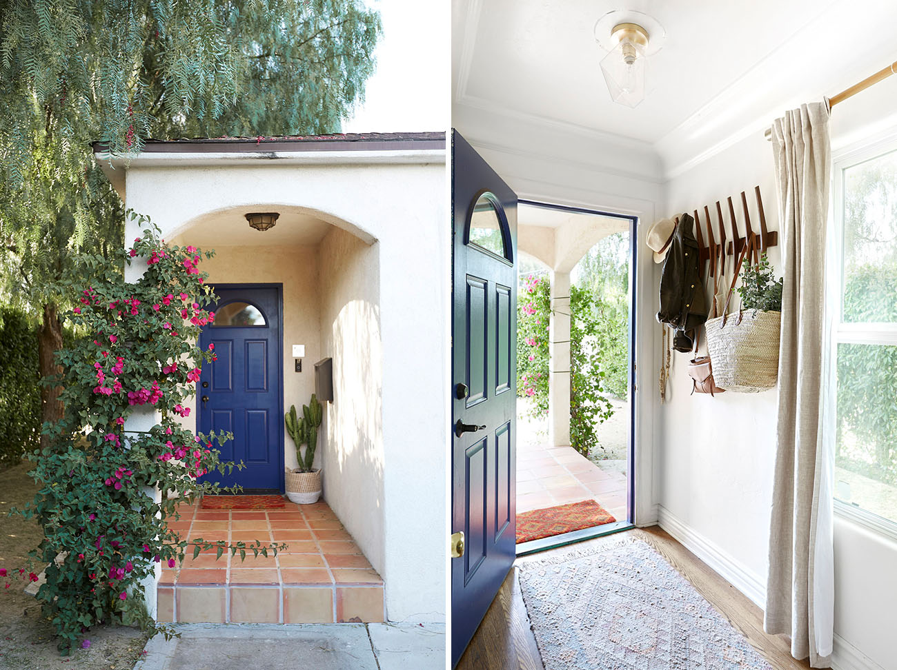 LA Bohemian Bungalow Home Tour