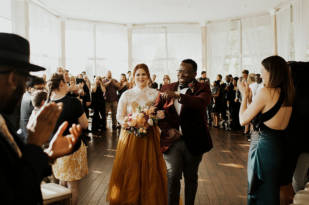 Modern Atlanta Georgia Wedding