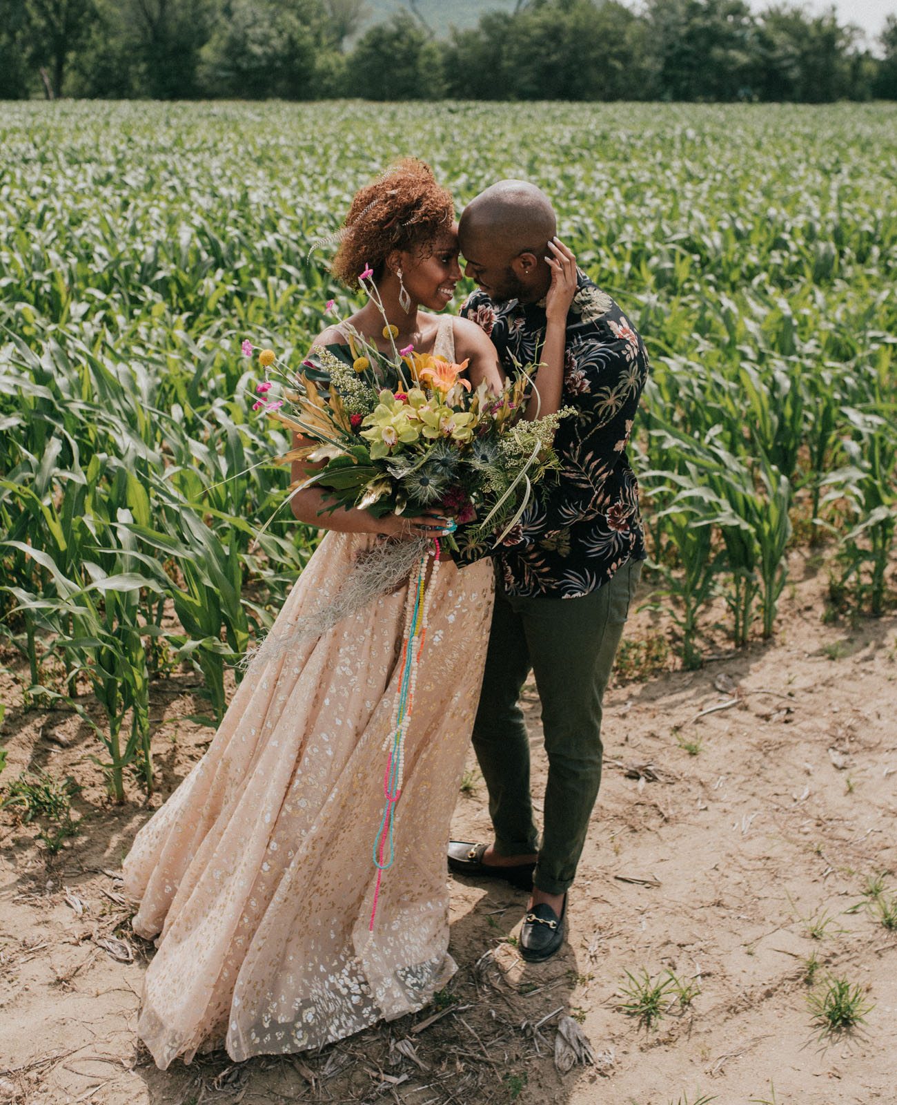 Feel the Love: This ?Lion King? Inspired Wedding is Full of Spirit