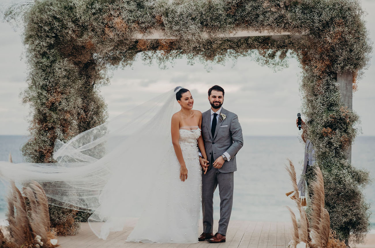 Glam Mexico Wedding