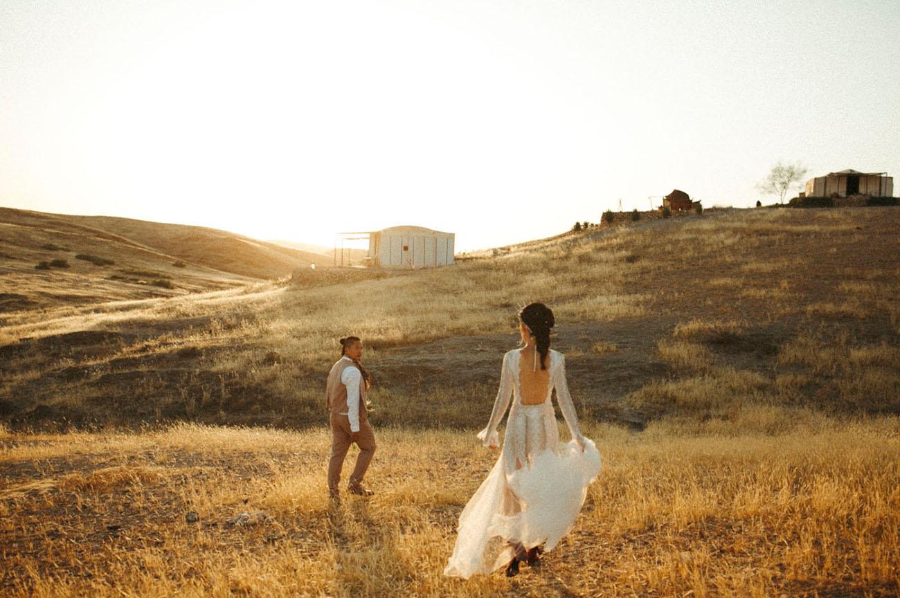 Boho Camp Wedding in Morocco