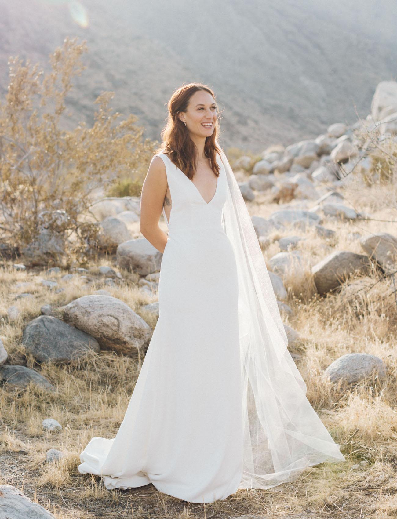 Retro Modern Palm Springs Wedding