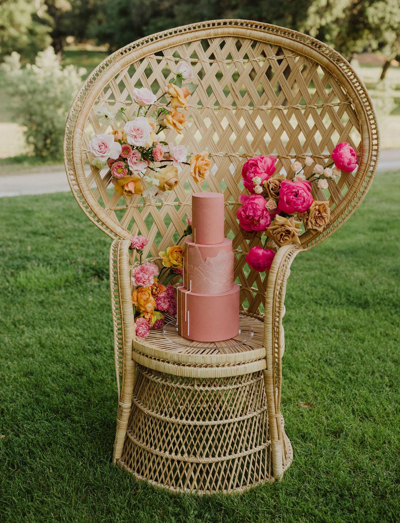 soft pink cake