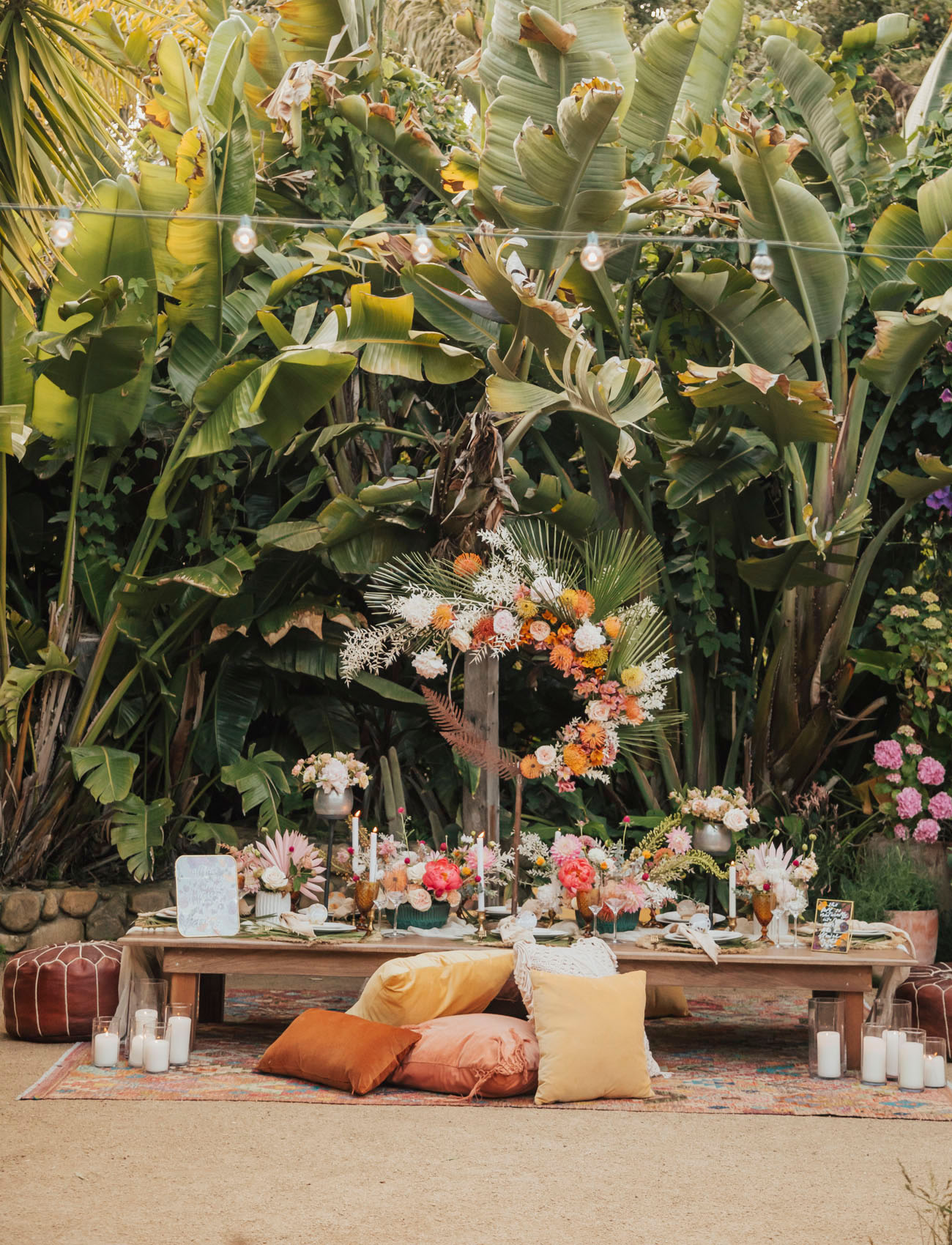 Summery Tropical Flower Bliss Inspiration