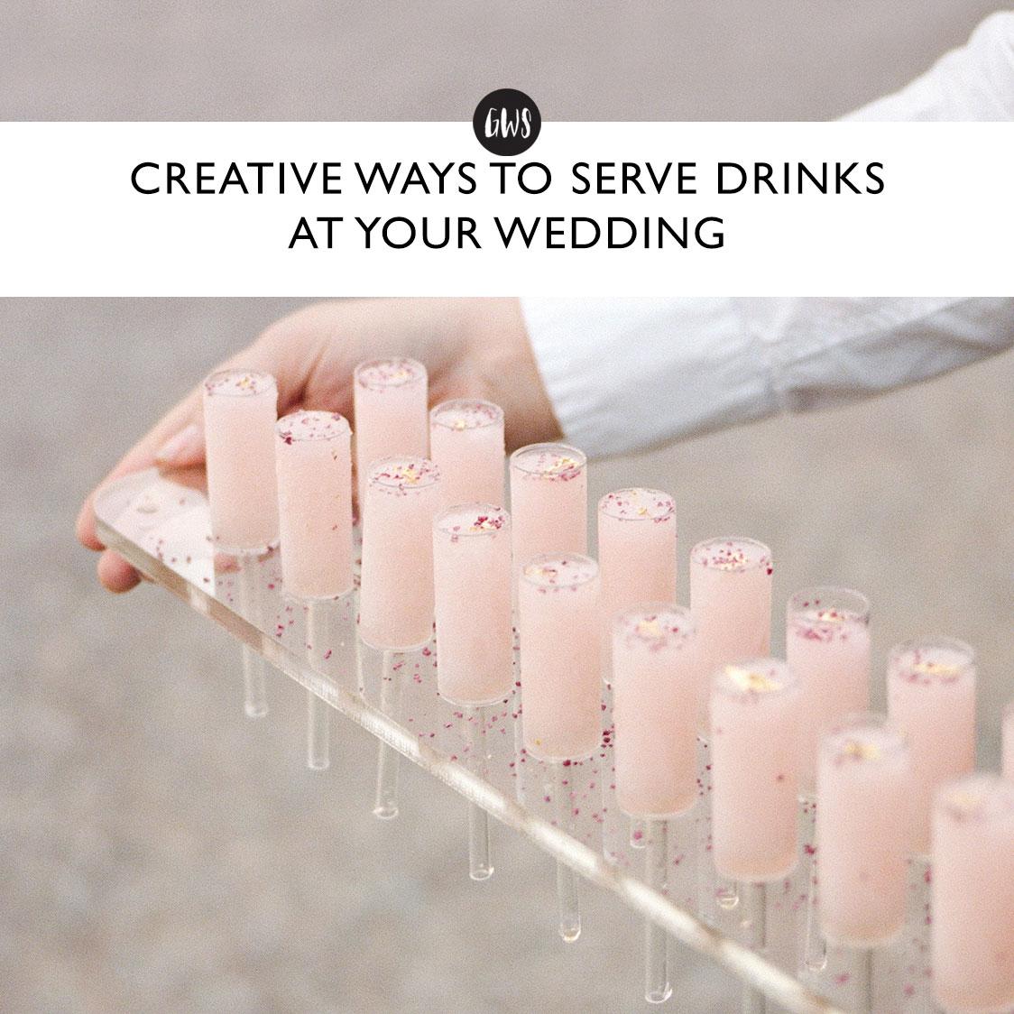 creative ways to serve drinks