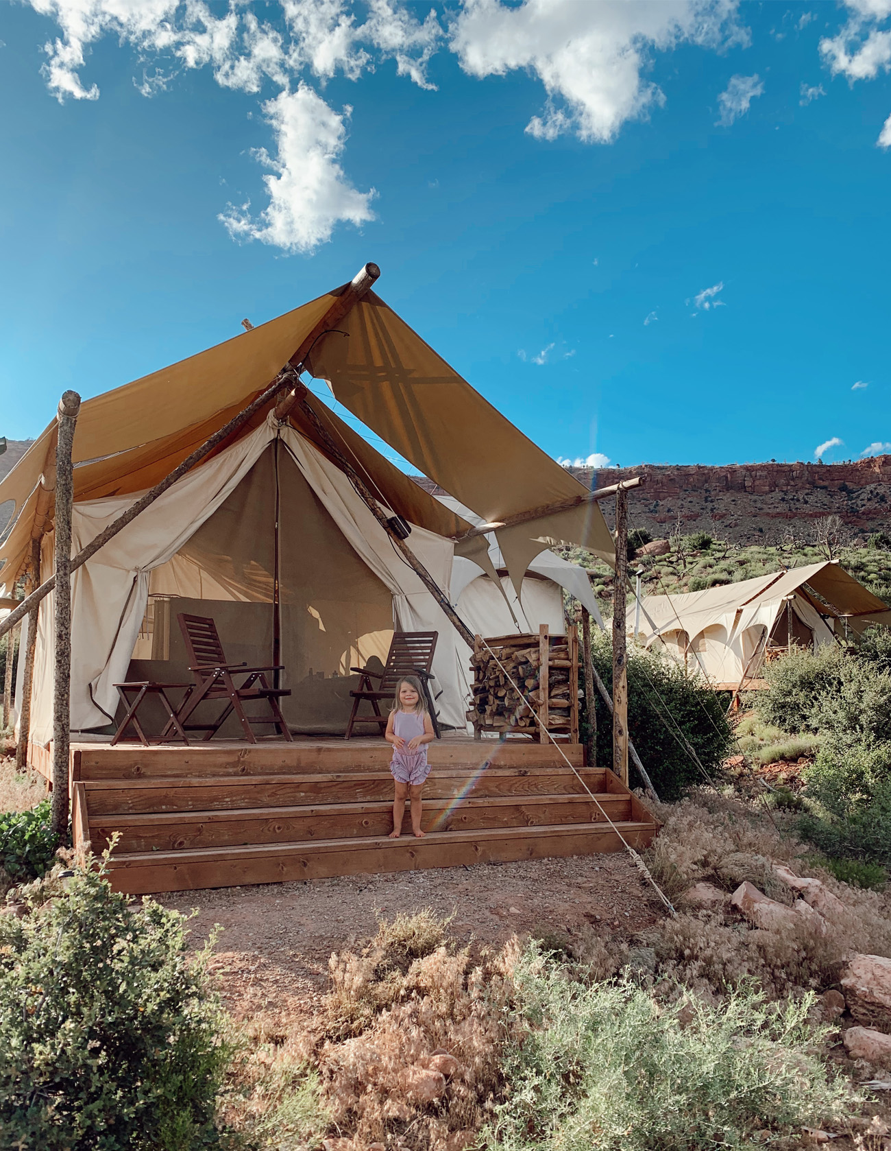under canvas zion glamping review