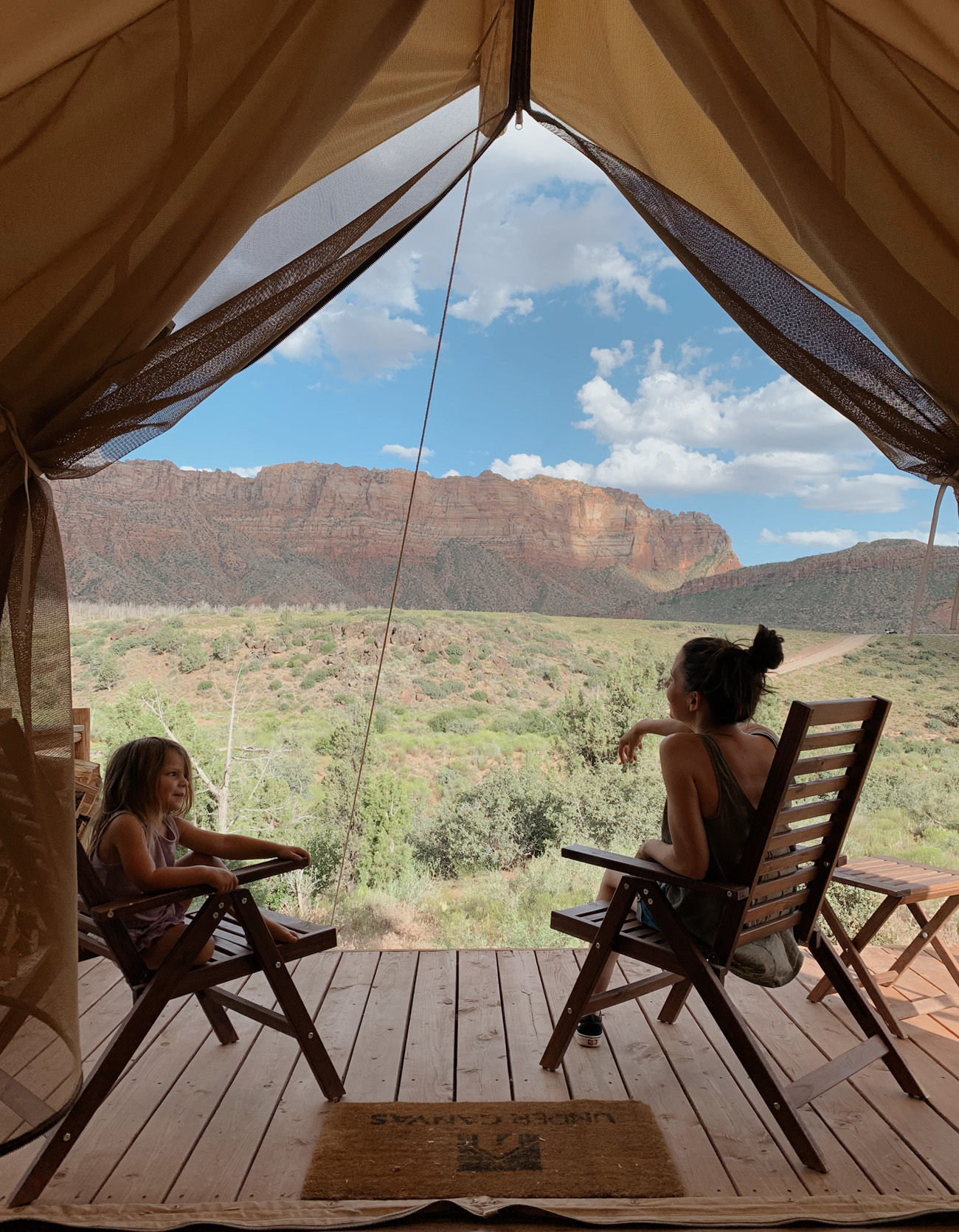 Our Glamping Adventure at Under Canvas Zion - Green Wedding