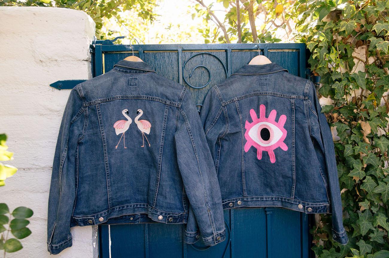 custom denim jackets