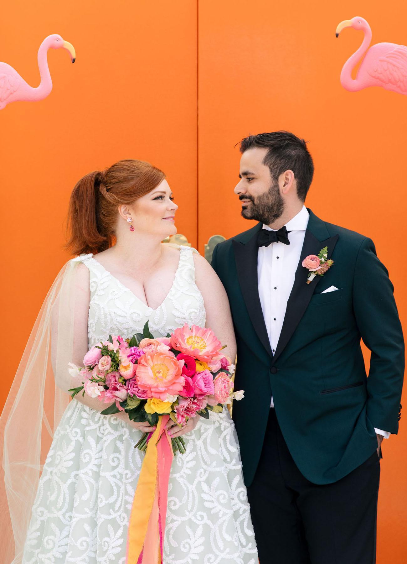 Elegant and Wacky Palm Springs Wedding