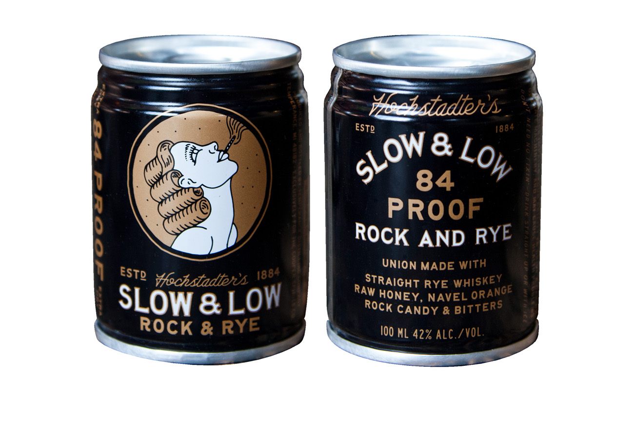 slow & Low Rock & Rye Whiskey in a Can