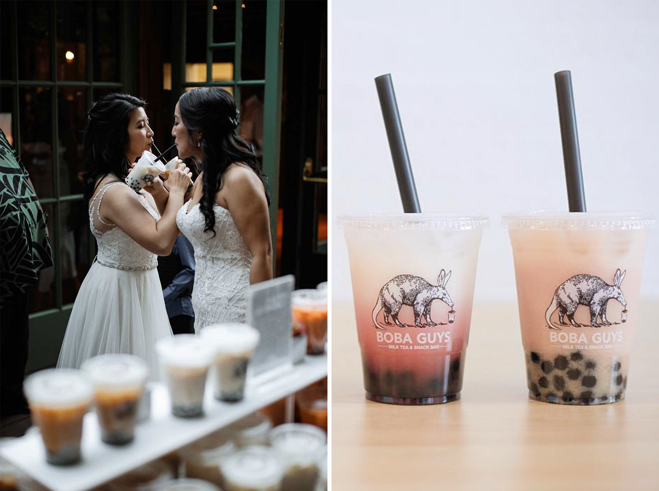 boba tea for weddings