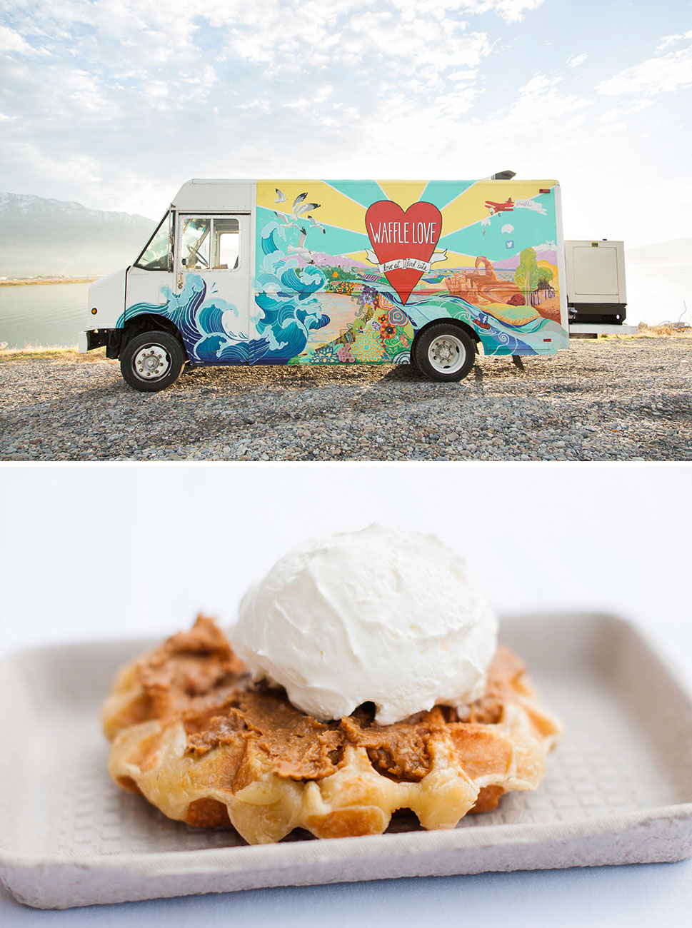 waffle truck for weddings