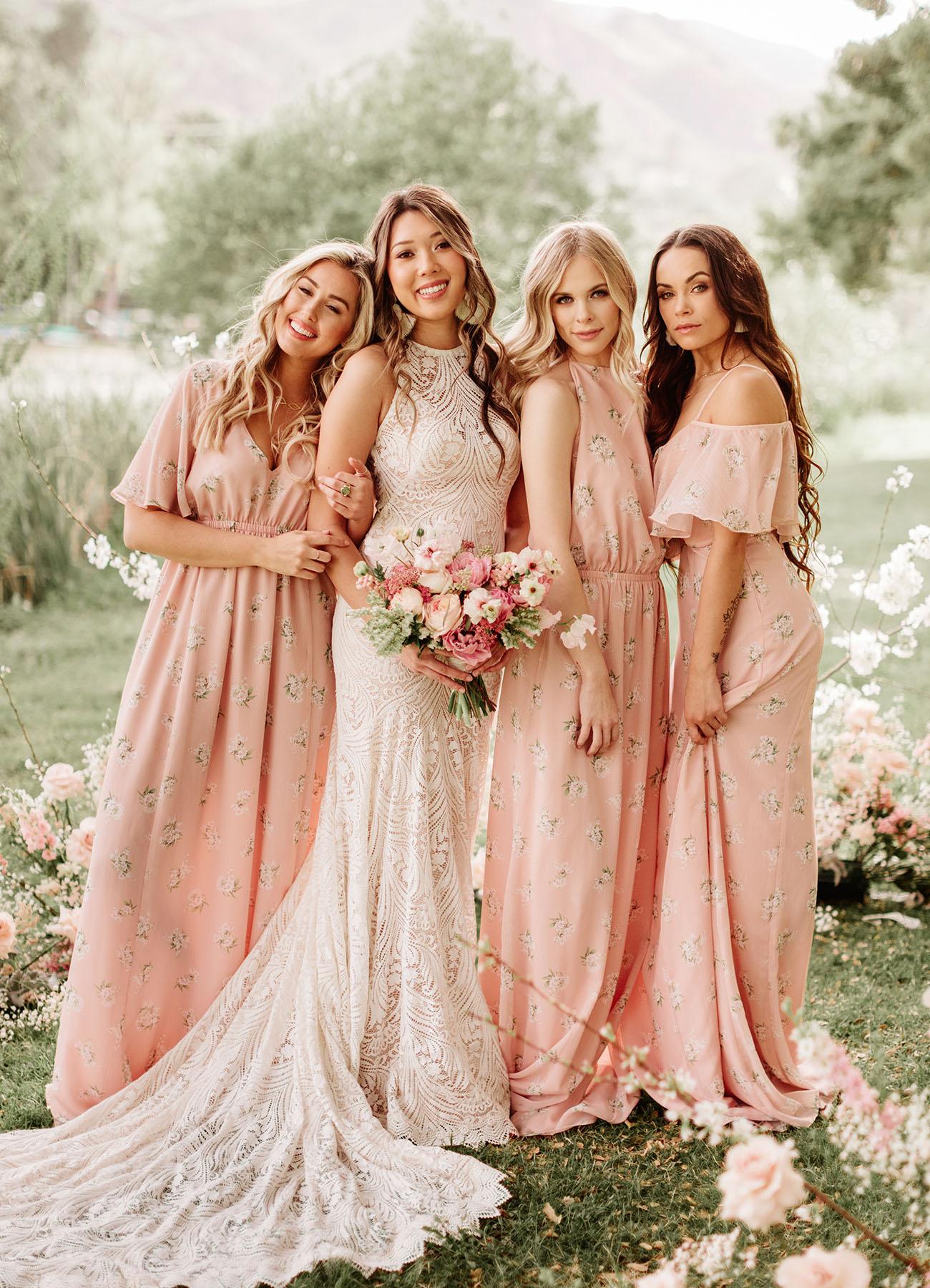GWSxMumu Blush Bridesmaids