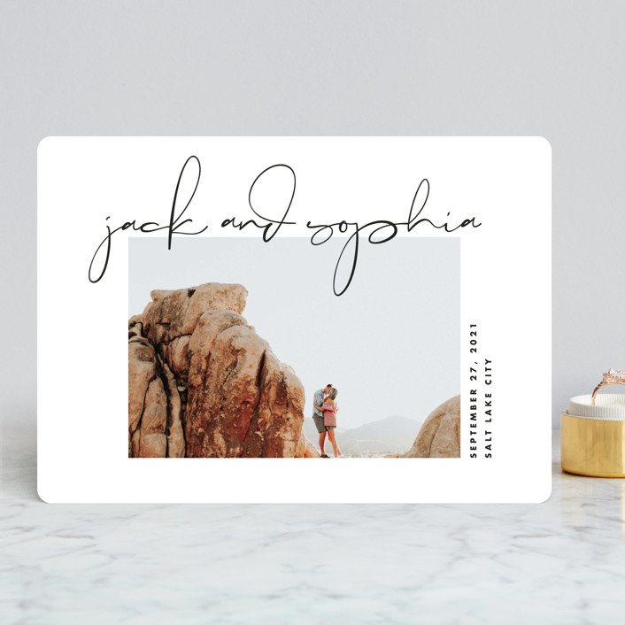 Minted Photo Option Save the Date