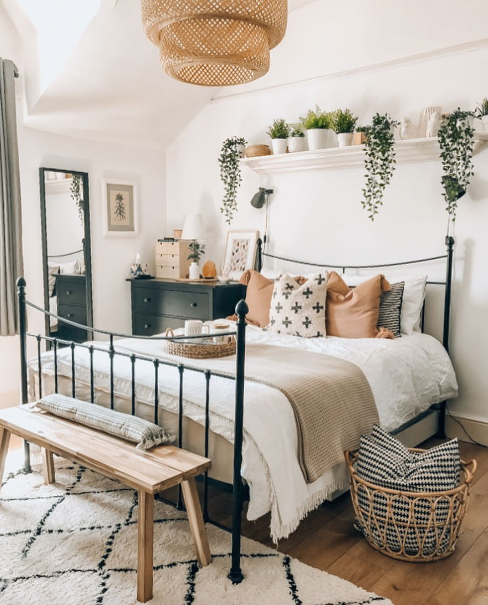 Our Favorite Boho Bedrooms And How To Achieve The Look Green Wedding Shoes