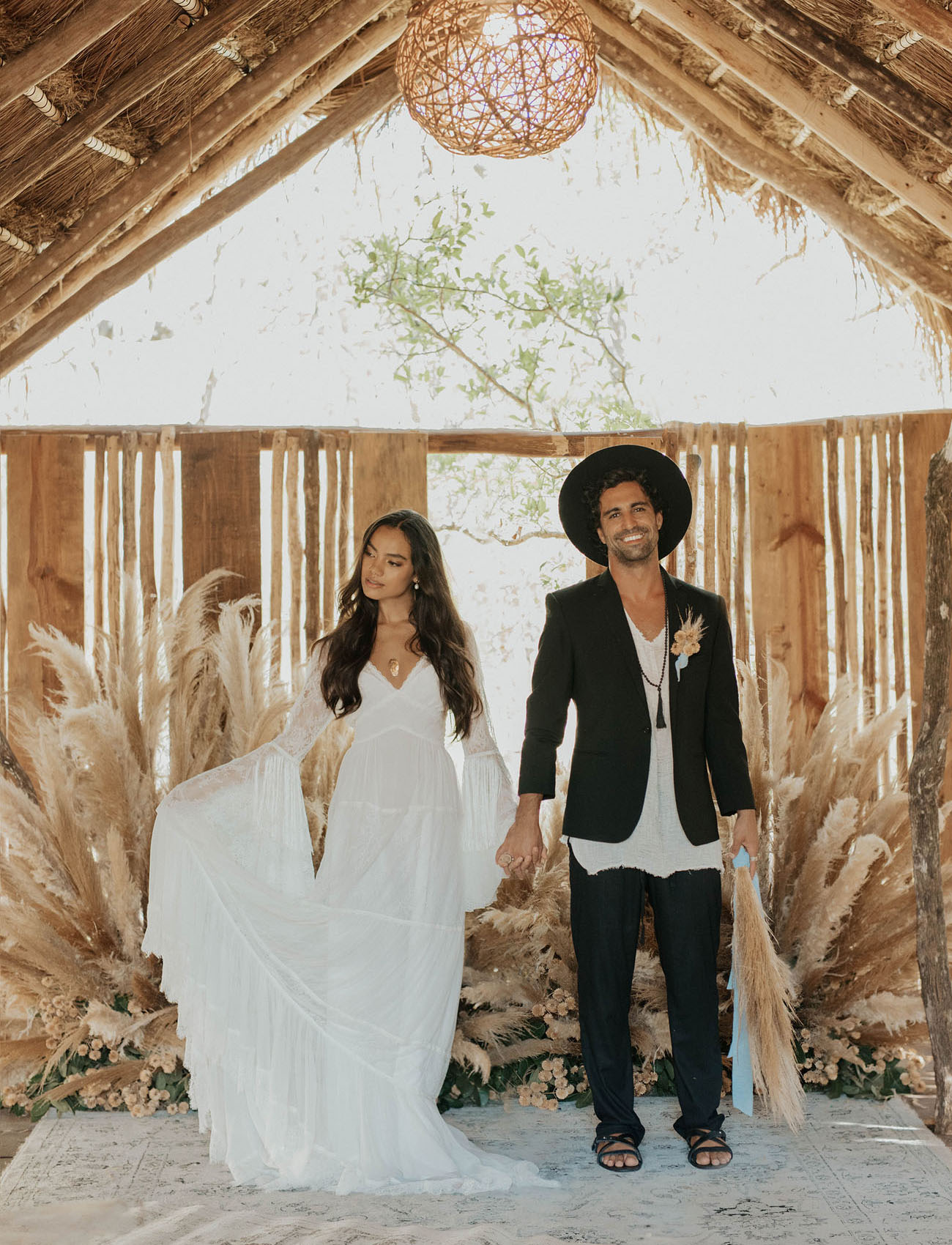 Celestial Mexico Elopement Inspiration