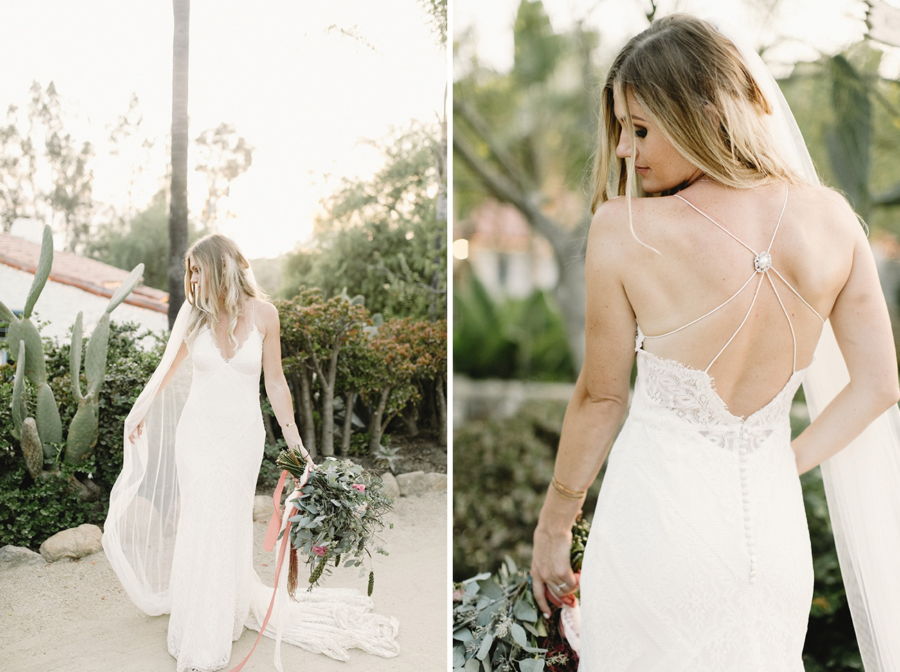 Drew Gown by Lovers Society and Green Wedding Shoes