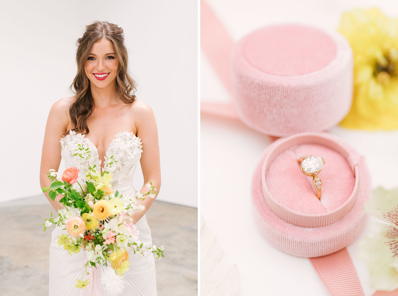 Pantone Living Coral Wedding Inspiration