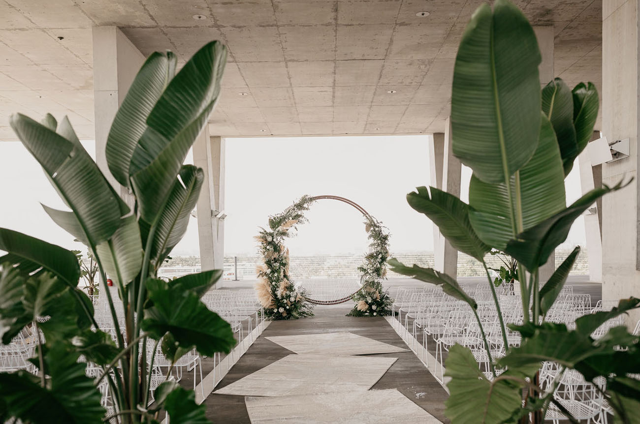 birds of paradise wedding plants